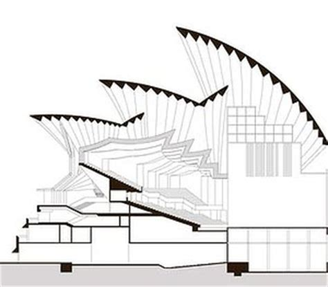 sydney opera house plans sydney opera house plan view house design ideas