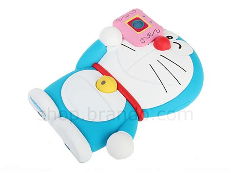 Headrest U Pasir Doraemon iphone 4s 3d moving doraemon phone