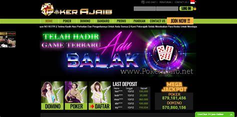 pkrajaib link alternatif  taruhan judi kartu poker  capsa terbaik