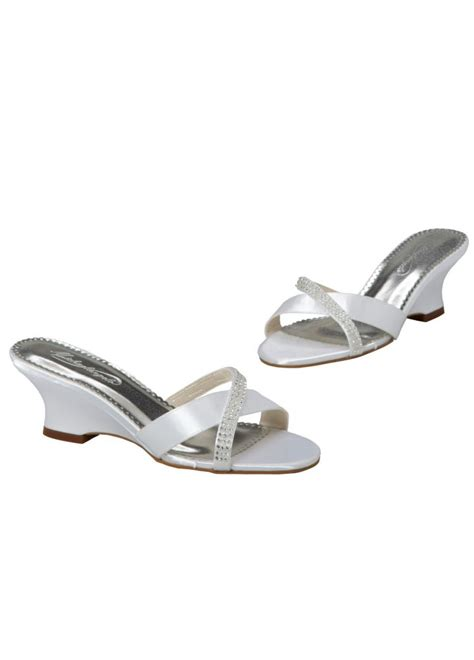 david s bridal dyeable shoes david s bridal wedding bridesmaid shoes dyeable wedge