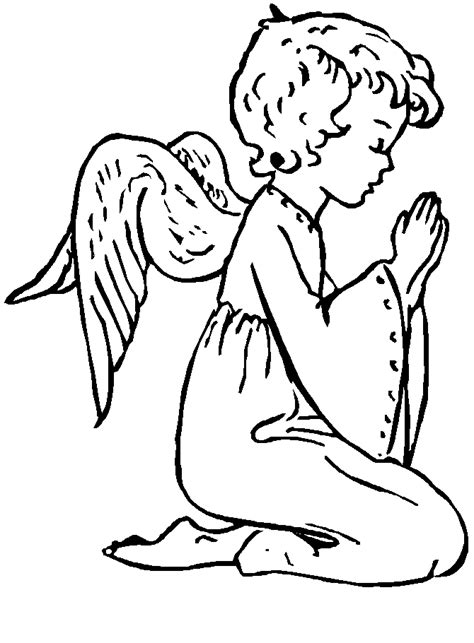 little angels coloring pages little angels drawings coloring pages