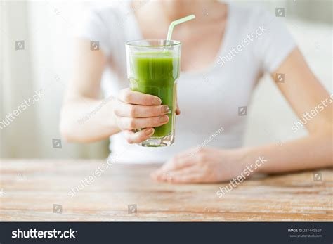 Detox Person by Healthy Food Diet Detox Stock Photo