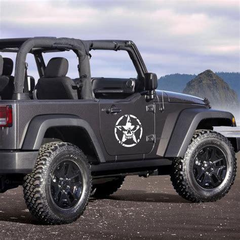 jeep wrangler military decals jeep wrangler army star door kit jeepazoid