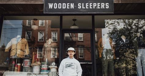 talking shop with brian davis of wooden sleepers the