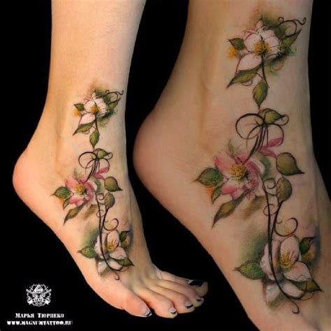 jasmine flower tattoo 25 best images about flower tattoos on