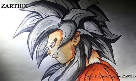 imagenes de goku imagenes grandes c 243 mo dibujar a goku dibujar a goku ssj4 taringa