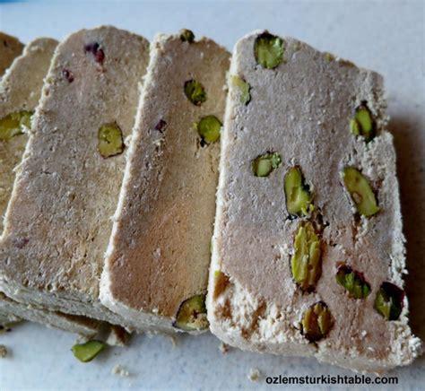 tahini bread roll delicious istanbul baked tahini halva with pine nuts firinda tahin helvasi