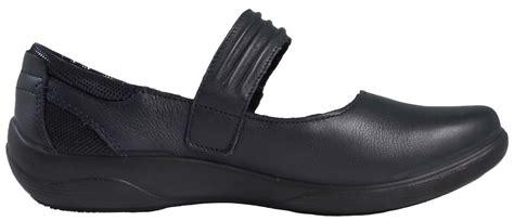 orthopedic shoes flat padders womens leather comfort shoes wide