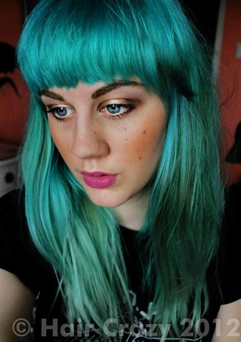 punky color ceedling s punky colour turquoise punky hair