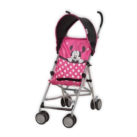 minnie mouse stroller disney baby saunter sport travel system fly away minnie