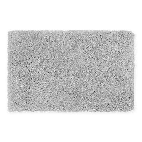 27 X 45 Bath Rug Buy Plush Shag 27 Inch X 45 Inch Bath Rug In Silver From Bed Bath Beyond