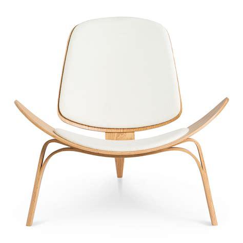 wegner ch shell chair replica alpine snow natural  design edit style sourcebook