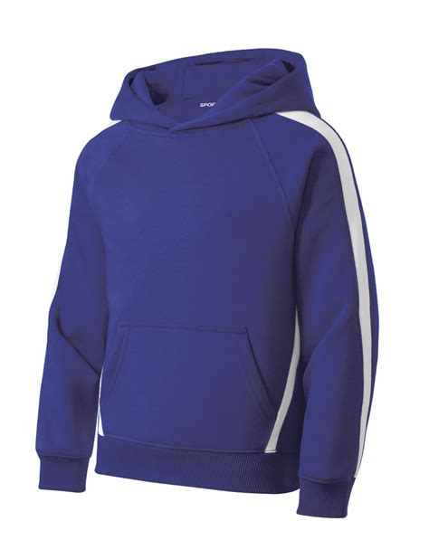 Sleeve Hooded Pullover customize sport tek 174 mens sleeve stripe pullover hooded