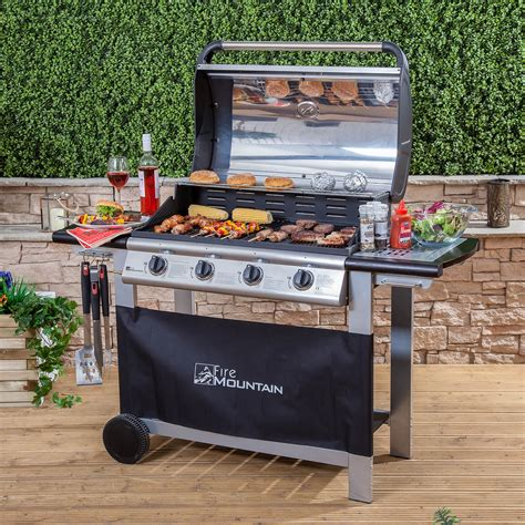 best gas barbecues everest 4 burner gas barbecue