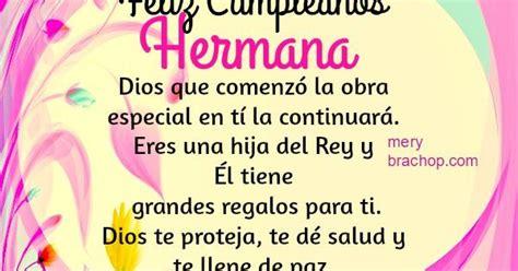 imagenes tiernas de feliz cumpleaños para mi hermana feliz cumpleanos hermana tarjeta cristiana jpg 600 215 600