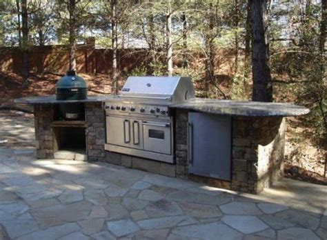 backyard bar b que bar b que island outdoor kitchens and grill pinterest