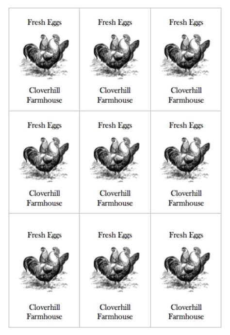 egg labels template egg labels template choice image templates design ideas