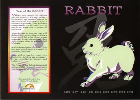 new year rabbit personality the astrology horoscope signs the rabbit