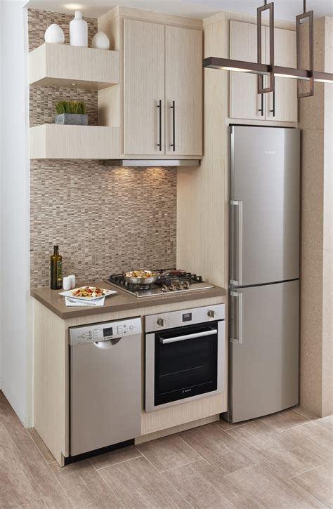 Small Spaces Big Solutions A Modern Haven Small Space Kitchen Designs
