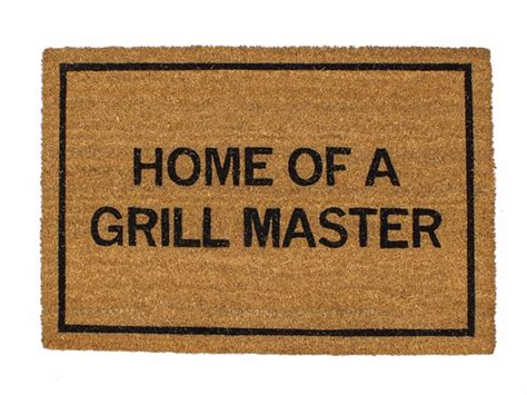 Clever Doormats by Clever Doormats Home Of A Grill Master