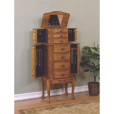 powell woodland oak jewelry armoire powell furniture woodland oak jewelry armoire 604 315