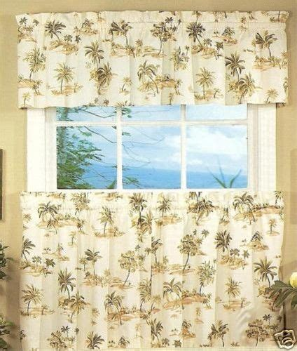 palm tree curtain panels palm tree kitchen curtains tiers and swags spice island