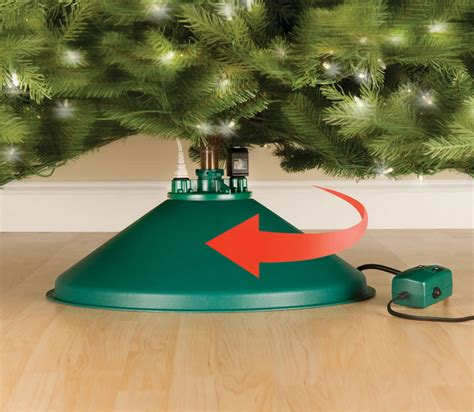 Nice What Is The Best Artificial Christmas Tree To Buy #6: Rotating-christmas-tree-stand-0.jpg