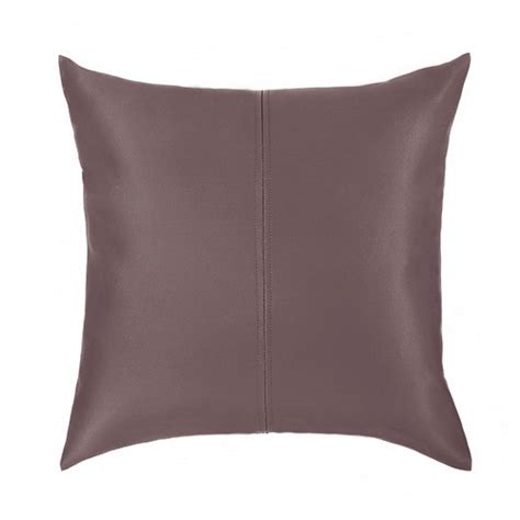 faux leather couch cushion covers faux leather scatter cushions ready filled pads sofa