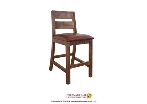antique 24 quot bartstool by international furniture direct