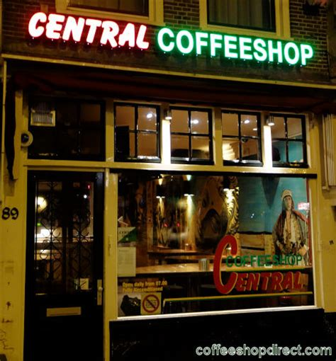 central amsterdam coffeeshop directory