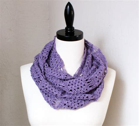 broomstick infinity scarf fabulous broomstick lace crochet projects on craftsy