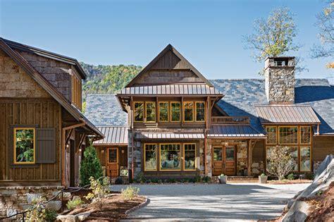 Home Exterior Design Hickory Nc A Timber Home Retreat In Carolina