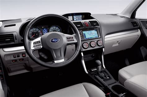 subaru 2016 interior updated starlink system to debut in 2016 subaru forester