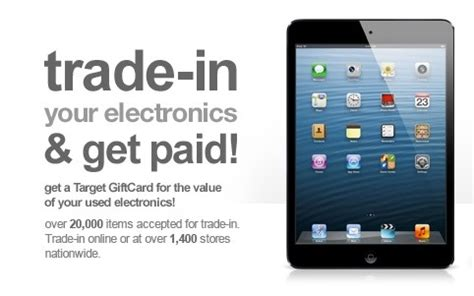 Target Trade In Gift Card Program - best ipad air deal target s 200 trade in for any older ipad even the original
