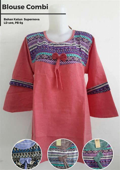 Blouse Jepang blouse combipusat grosir mukena katun jepang murah 97ribu