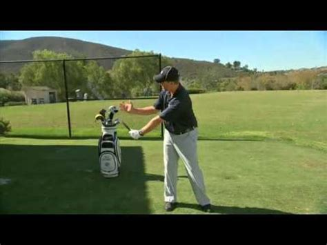 stages of golf swing golf swing release stage 1 to a proper release hinge and
