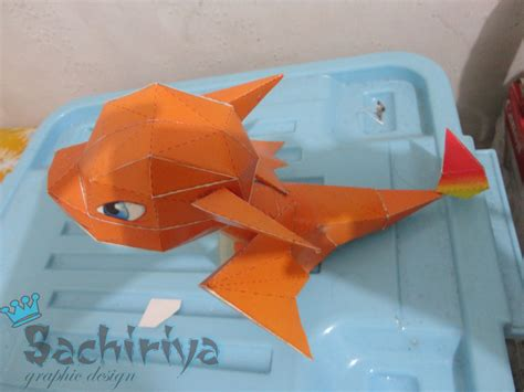 Papercraft Charizard - charizard crafts