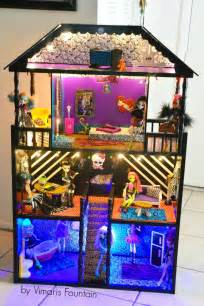 monster high dolls house tour monster high house dollhouse ideas pinterest