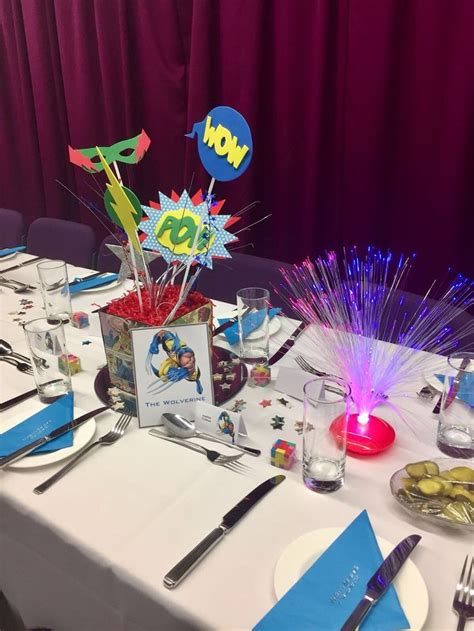 themes in the book where she went we loved creating a comic book theme for a fun barmitzvah