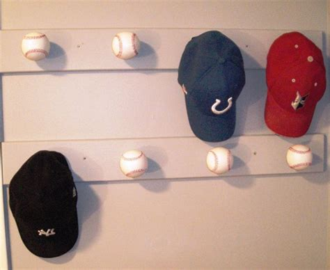 Baseball Hat Rack For Wall by Hat Rack