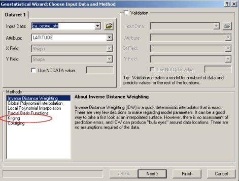 tutorial kriging arcgis sal software arcgis quickstart part 1