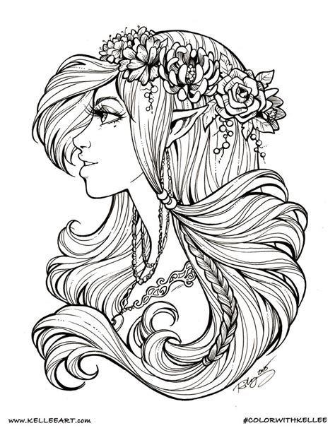 colorwithkellee elf by kelleeart on deviantart