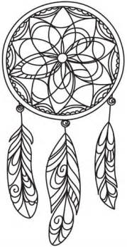 dreamcatcher coloring pages delicate dreamcatcher threads unique and awesome