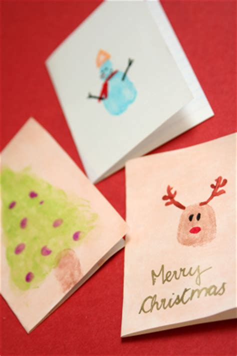 christmas cards ideas preschool fingerpaint cards activity education