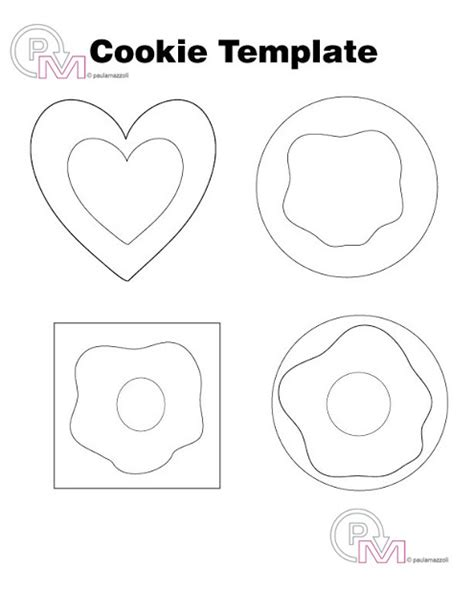 felt shape templates swiss army artist felt cookie catering template and tutorial