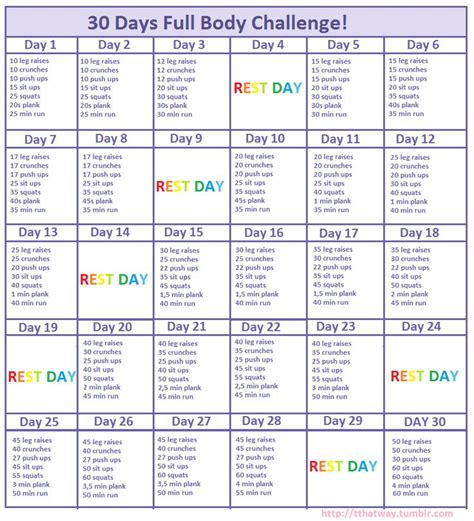 25 best ideas about 30 day challenge on 30