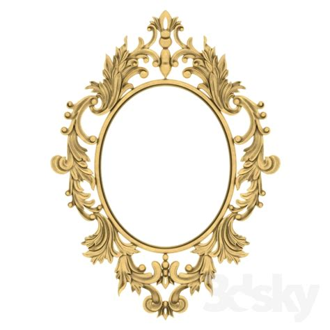 decoration mirrors home 3d models mirror wall mirror home decorative decor