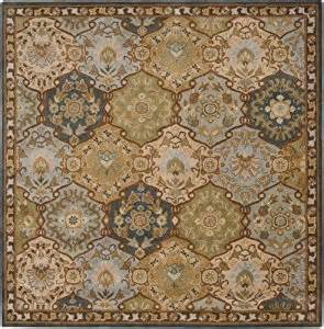 Square Area Rugs 8x8 Area Rug 8x8 Square Traditional Blue Color Surya Caesar Rug From Rugpal