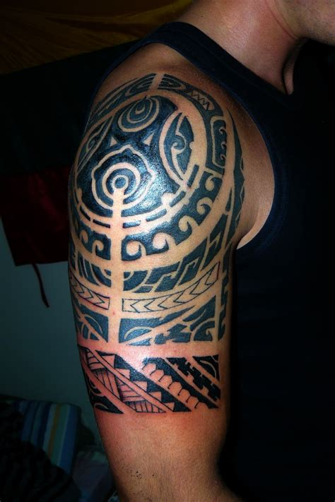 tribal half sleeve tattoos meanings polynesian tattoos designs ideas and meaning tattoos