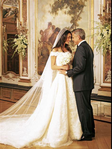 hochzeitskleid amal clooney amal alamuddin s wedding dress the amal effect amal